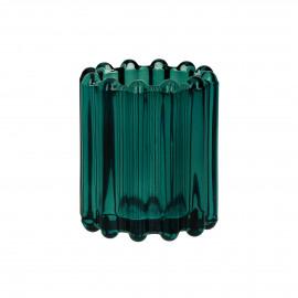 BROOKLYN CANET - t/light - verre / métal - DIA 6 x H 7 cm - teal