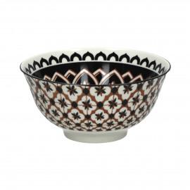 MIRA - bowl - porcelain - DIA 15 x H 7 cm - multicolor