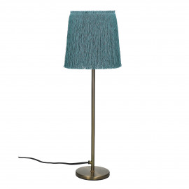 FROU' - lamp - iron / cotton - DIA 14 x H 47 cm - aqua