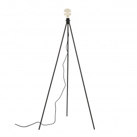 STACKLE - floor lamp base 3 levels - metal - L 24/47/65 x W 24/47/65 x H 48/86/125 cm - black