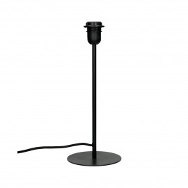 LAVAZ - table lamp base - metal - DIA 15 x H 37 cm - black