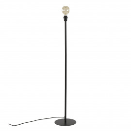 LAVAZ - floor lamp base - metal - DIA 25 x H 122 cm - black