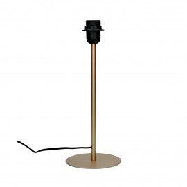 LAVAZ - table lamp base - metal - DIA 15 x H 37 cm - gold