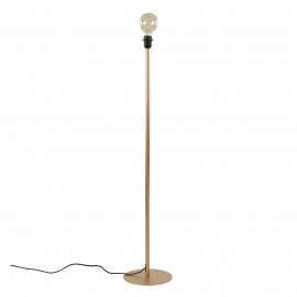 LAVAZ - floor lamp base - metal - DIA 25 x H 122 cm - gold