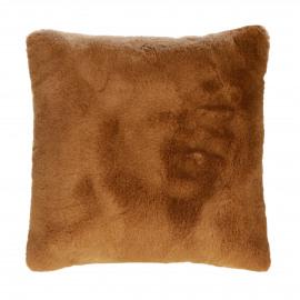 FLUF - cushion - acrylic / polyester - L 45 x W 45 cm - camel