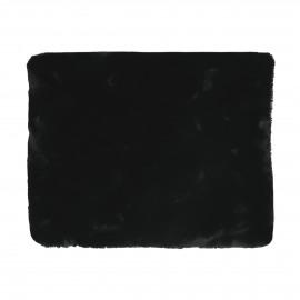 FLUF - throw - acrylic / polyester - L 120 x W 160 cm - black