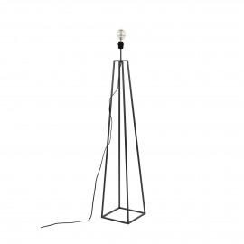 KIPS BAY - floor lamp base - metal - L 25 x W 25 x H 135 cm - black
