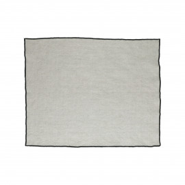 CHAMBRAY - set/4 placemats - lin / coton - L 33 x W 48 cm - naturel