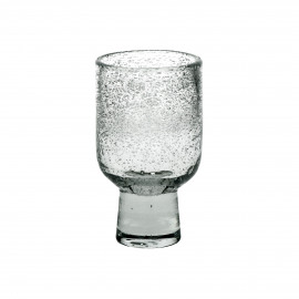 STÈLE - wine glass - glass - DIA 7,2 x H 12 cm  - clear