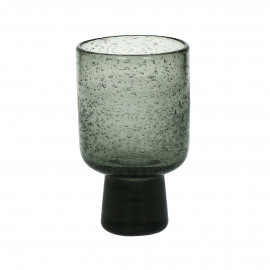 STÈLE - wine glass - glass - DIA 7,5 x H 13 cm  - smoke