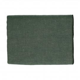 CHAMBRAY - tafelkleed - linnen / katoen - L 250 x W 150 cm - groen