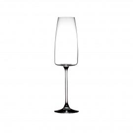 MARGAUX - verre à chamagne - verre - DIA 6,6 x H 25 cm - transparant