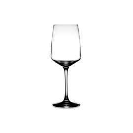 MERLOT - verre à vin - verre - DIA 8,1 x H 21 cm - transparant