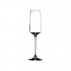 MERLOT - verre à champagne - verre - DIA 7 x H 24,5 cm - transparant