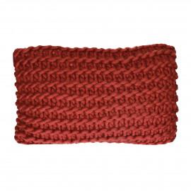 NITTU - cushion - acrylic - L 50 x W 30 cm - brique