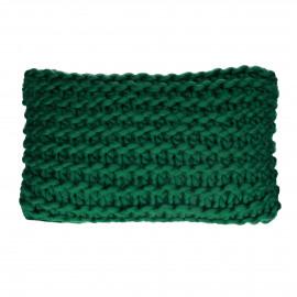 NITTU - cushion - acrylic - L 50 x W 30 cm - dark green