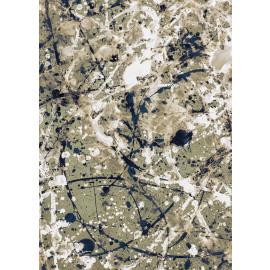GALAXIE - canvas - linen - L 100 x W 4,5 x H 140 cm - white/khaki