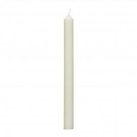 - kaars - paraffine wax - H 25 cm - ivoor