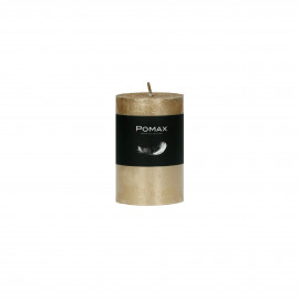 candle - paraffin wax - DIA 5 x H 8 cm - champagne