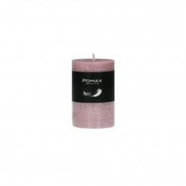 kaars - paraffine wax - DIA 5 x H 8 cm - Licht roze