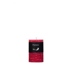Candle fuchsia D5H7.5