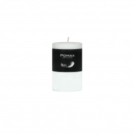 Candle - Paraffin wax - DIA 5 x H 8 cm - White