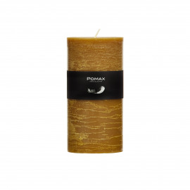 Candle - tobacco - D7h14cm - 8st/doos burning hours = 72 hrs