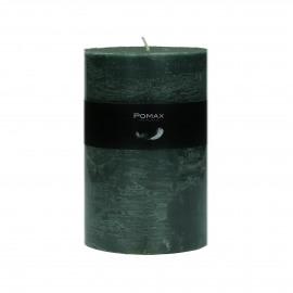 kaars - paraffine wax - DIA 10 x H 15 cm - Donker groen