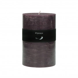 Candle - Paraffin wax - DIA 10 x H 15 cm - Purple