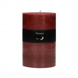 kaars - paraffine wax - DIA 10 x H 15 cm - Terracotta