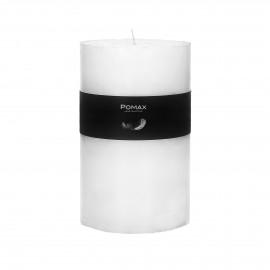 Kaars - paraffine wax - DIA 10 x H 15 cm - Wit