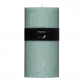 kaars - paraffine wax - DIA 10 x H 20 cm - Licht groen