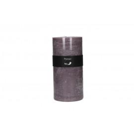 kaars - paraffine wax - DIA 10 x H 20 cm - Lila
