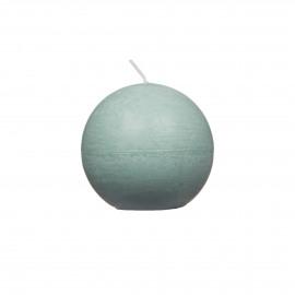 kaars bol - paraffine wax - DIA 6 cm - lichtgroen