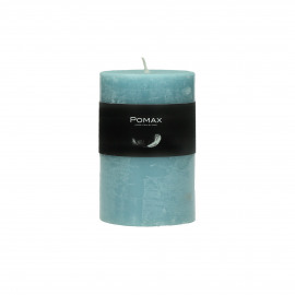 CANDLE - candle - paraffin wax - DIA 7 x H 10 cm - blue