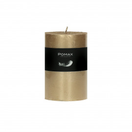 candle - paraffin wax - DIA 7 x H 10 cm - champagne