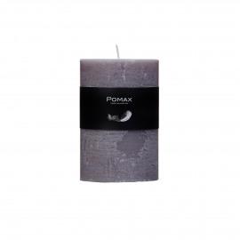 kaars - paraffine wax - DIA 7 x H 10 cm - Licht Grijs