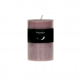 CANDLE - candle - paraffin wax - DIA 7 x H 10 cm - light pink