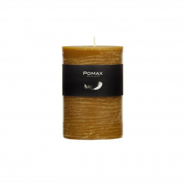 Candle - tobacco - D7H10cm - 8st/doos burning hours = 56 hrs - Paraffin wax - Tabacco