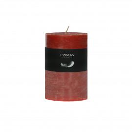 kaars - paraffine wax - DIA 7 x H 10 cm - Terracotta