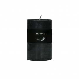 CANDLE - candle - paraffin wax - DIA 7 x H 10 cm - black