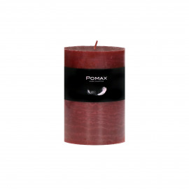 CANDLE - candle - paraffin wax - DIA 7 x H 10 cm - red
