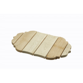 AMALIA - broodplank - eik - 48x30x4 cm