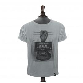 T-shirt van Dirty Velvet - Mr. Snake