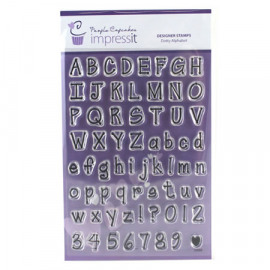 dotty alphabet stamp