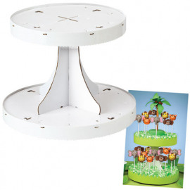 2-tier pops display stand - Wilton