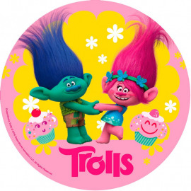 Trolls - ouwel - 20cm