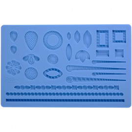 jewelery - Wilton fondant & gum paste mold