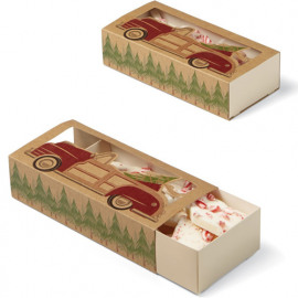 sliding treat boxes - holiday sweet swap - wilton