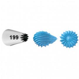 #199 decorating tip - open star - Wilton